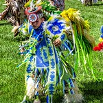 Dancing -Grand Entrance - Roasting Ears of Corn Festival