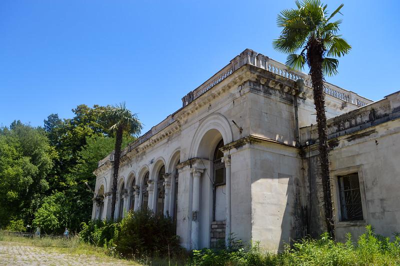 Baratashvili Station, Sokhumi, Abkhazia