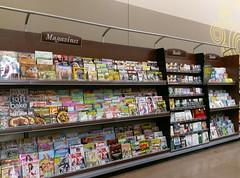 Millennium style magazine rack!
