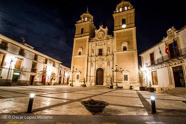 Nocturna Iglesia de la Encarnación