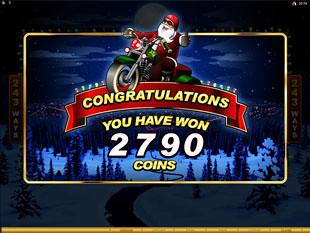 Santa's Wild Ride Free Spins