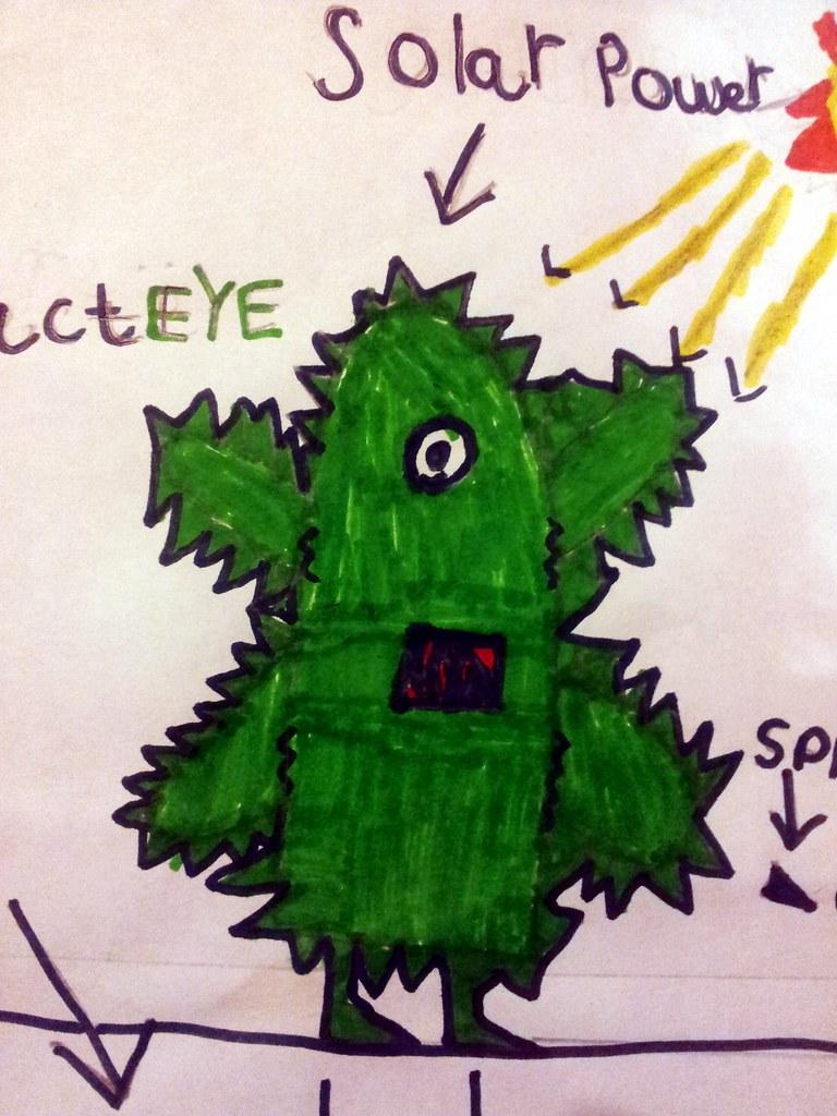 , #TeamSkylanders Meet Danny's new Life Character:  CactEYE!