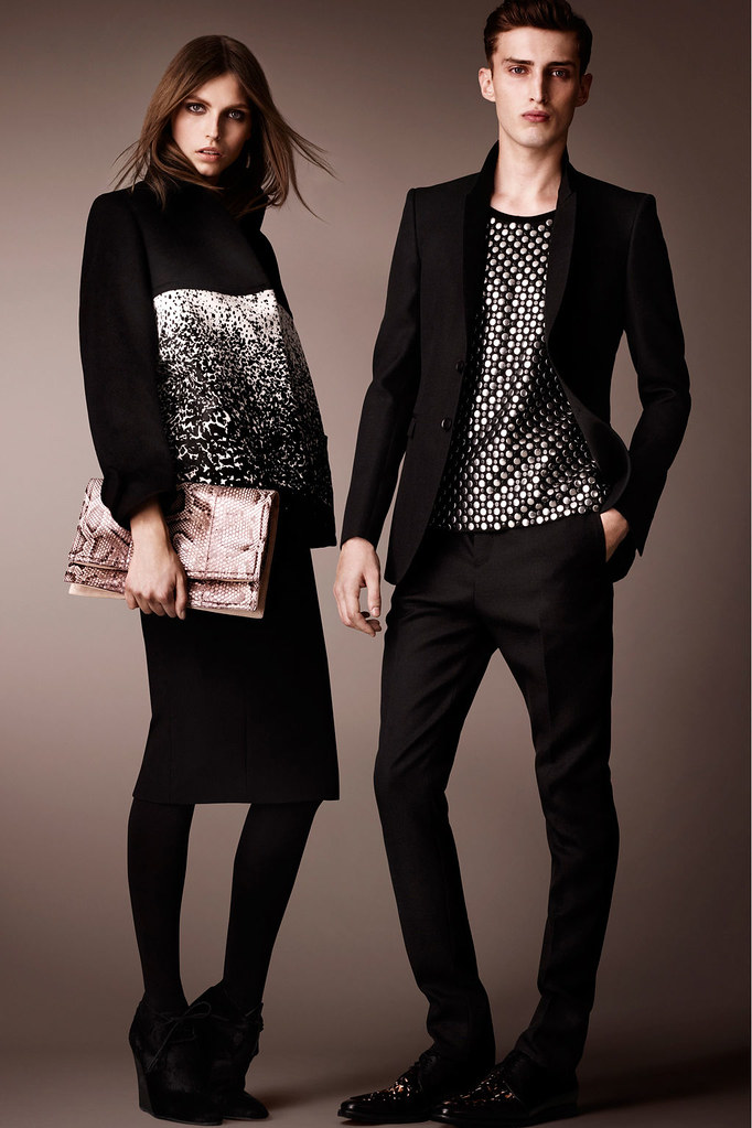Charlie France0290_Burberry Prorsum's Pre-Fall 2013 Collection(Homme Model)