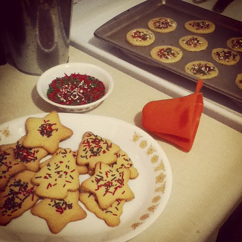 Christmas sugar cookies!