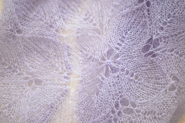 Lilaceous Shawl