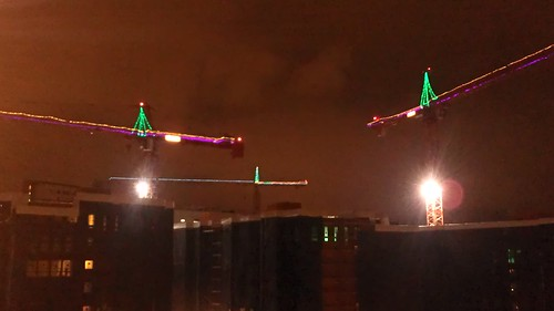 Christmas cranes by christopher575