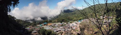 Panorámica desde Doi Pui