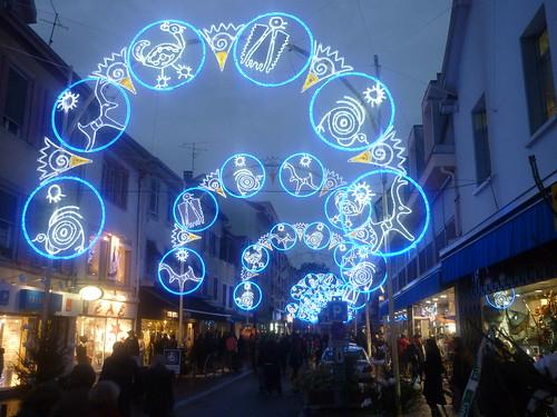 Les Lumières de Noël de Montbéliard