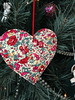 Liberty Hearts Ornament Tutorial