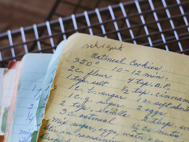 Great Oma's recipe book