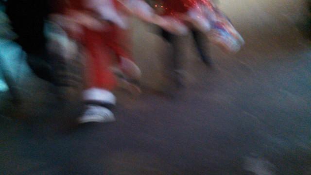 santa feet