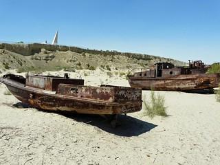 Moynaq (Mar de Aral, Uzbekistán)