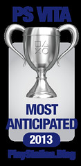 PS.Blog Game of the Year 2012 - PS Vita Most Anticipated Silver