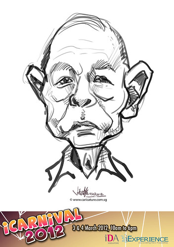 digital live caricature for iCarnival 2012  (IDA) - Day 1 - 35