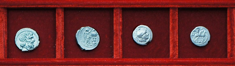 RRC 097  Luceria L silver, Ahala collection Roman Republic