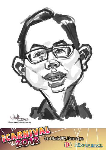 digital live caricature for iCarnival 2012  (IDA) - Day 2 - 53