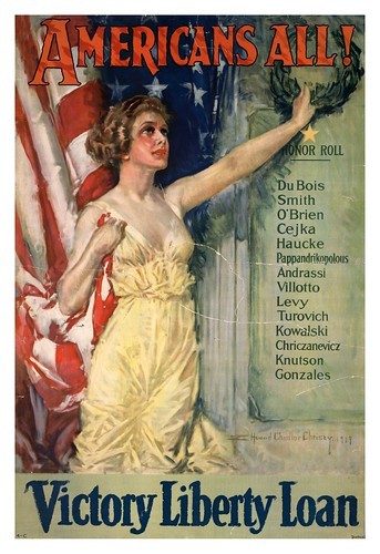 002-Americans all  Victory Liberty Loan-1919-Howard Chandler Christy - UNT Digital Library