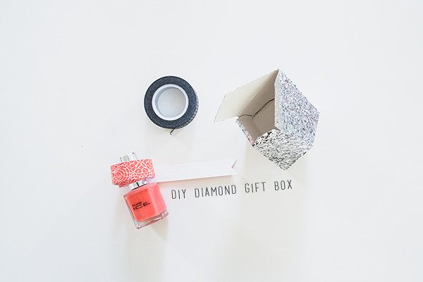 diy diamond gift box | Thinking About Pretty
