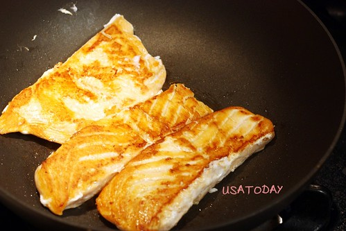 鮭魚炒飯 Salmon Fried Rice 4