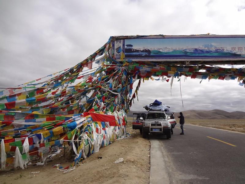 Passo de Montanha Lalung La 5050m Tibete