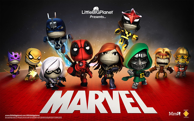 LittleBigPlanet - Marvel Costumes Pack 5