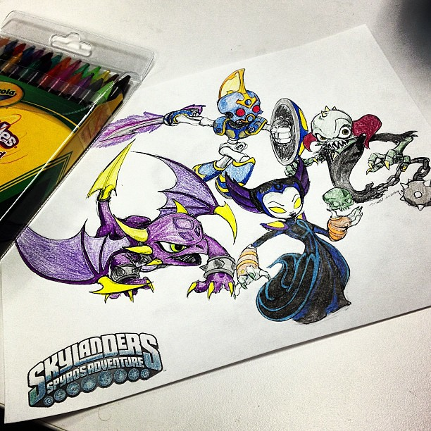 Free Skylanders Swap Force Coloring Pages, Download Free Clip Art ... | 500x500