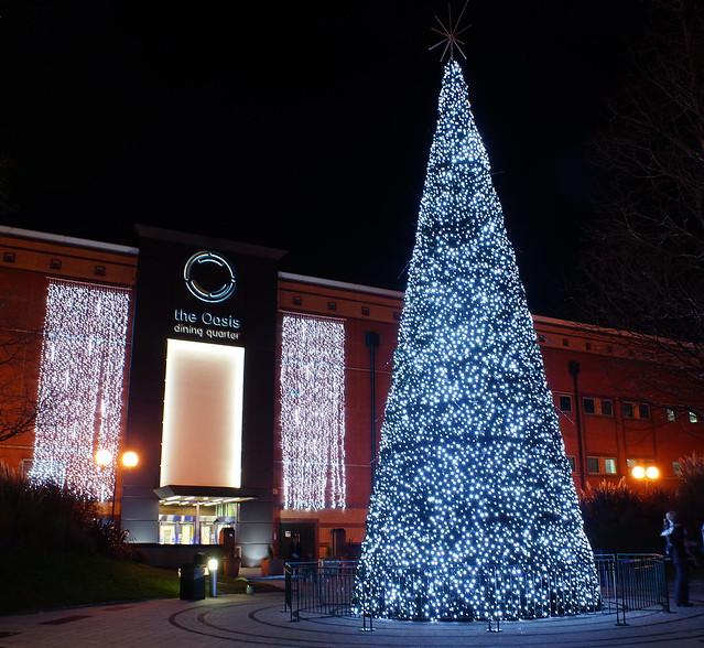 Christmas Tree At The Oasis Meadowhall 1