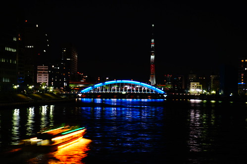 Candle tree and dinner boat (Yakata-bune)