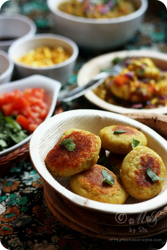 Monsoon Spice | Unveil the Magic of Spices   : Ragda Patties