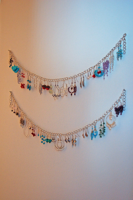 Hang This Pretty Earring Organizer On Your Wall Offbeat