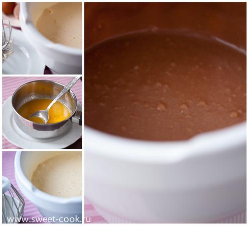 приготовление теста для торта пьяная вишня