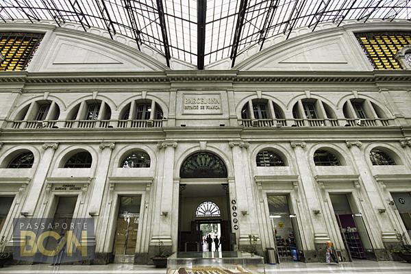 estação de trem Estació de França, Barcelona