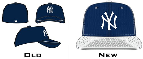 New York Yankee home batting practice cap