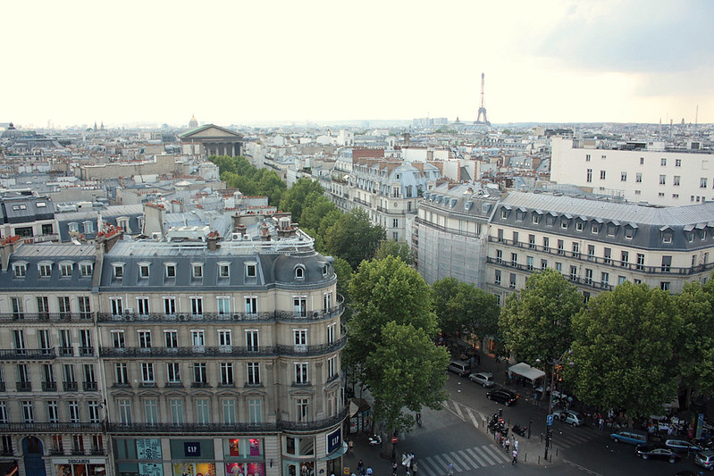 Baron Haussmann's  beautiful city