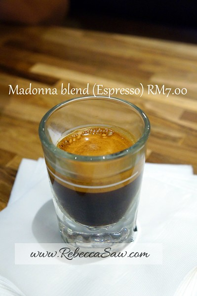 coffea coffee Madonna - telawi bangsar