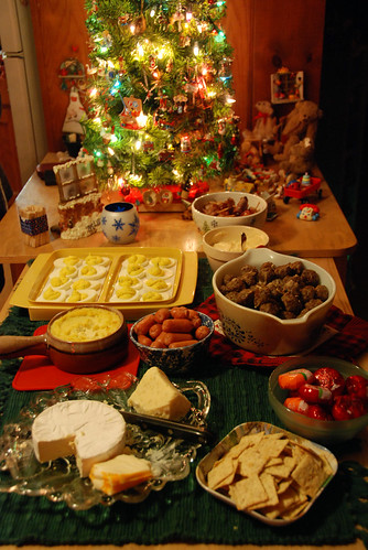 Christmas Eve foods