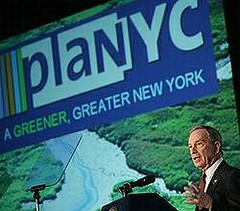 紐約市長彭博(Michael Bloomberg)公布PlaNYC計畫,紐約市政府提供