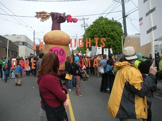 Bread & Roses Float