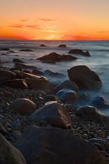 363/365 - Winter Sunset on Gooseberry Island