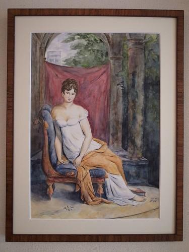 レカミエ夫人の肖像(模写)