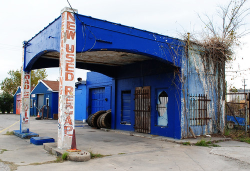 Former Gas Station, Stedman & McCarty, Houston, Texas 1212291545