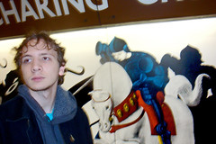 Alex at Charing Cross Underground station by Julie70