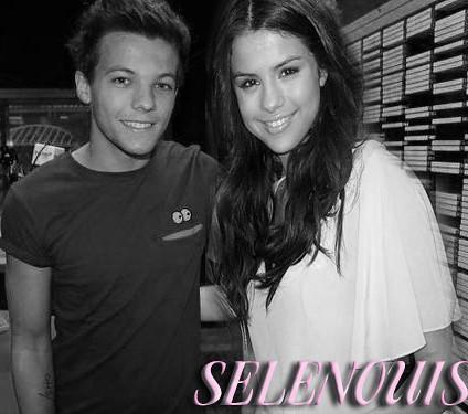 Louis and Selena