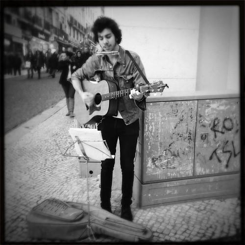 Street Singer by Davide Restivo