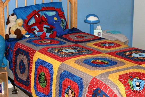The Superhero Quilt