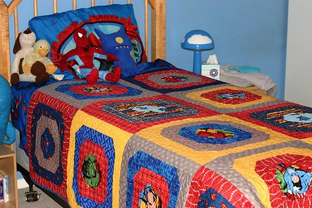 The Superhero Quilt | Flickr - Photo Sharing!
