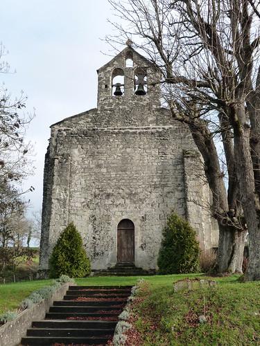 Esclottes - L'Eglise Saint Blaise 01