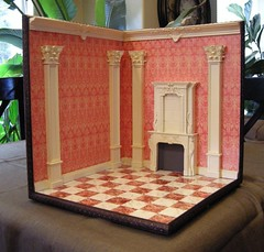 1:12 scale Corner Room Box
