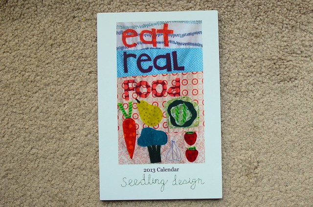 eat real food calendar