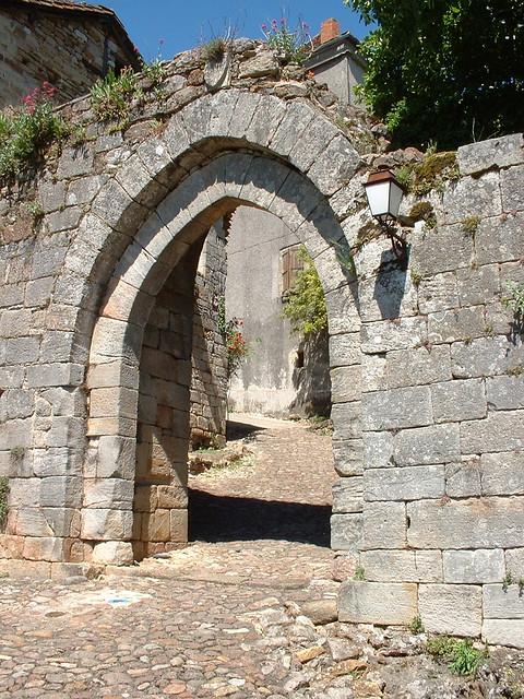 Capdenac-le-Haut : Porte Narbonnaise